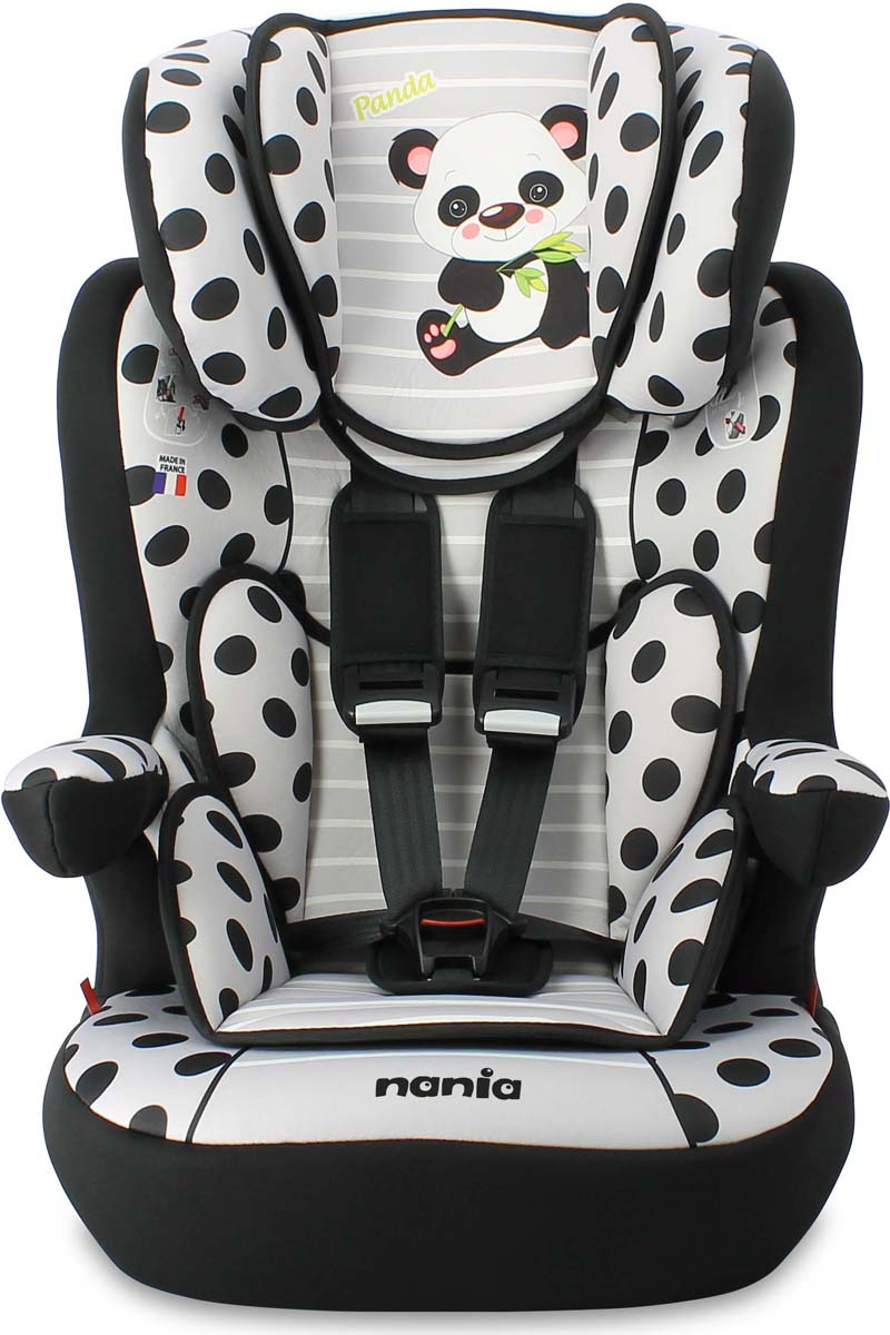 Nania Автокресло I до max SP Panda цвет серый от 9 до 36 кг -  Автокресла и аксессуары