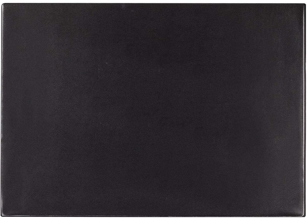Brauberg Настольное покрытие с прозрачным карманом цвет черный 38 х 59 см -  Аксессуары для труда