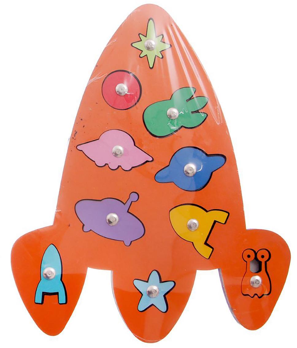 Smile Decor Обучающая игра Космос цвет оранжевый -