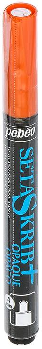 Маркер для ткани Pebeo  Setaskrib+ Opaque , цвет: оранжевый, 4 мм -  Маркеры