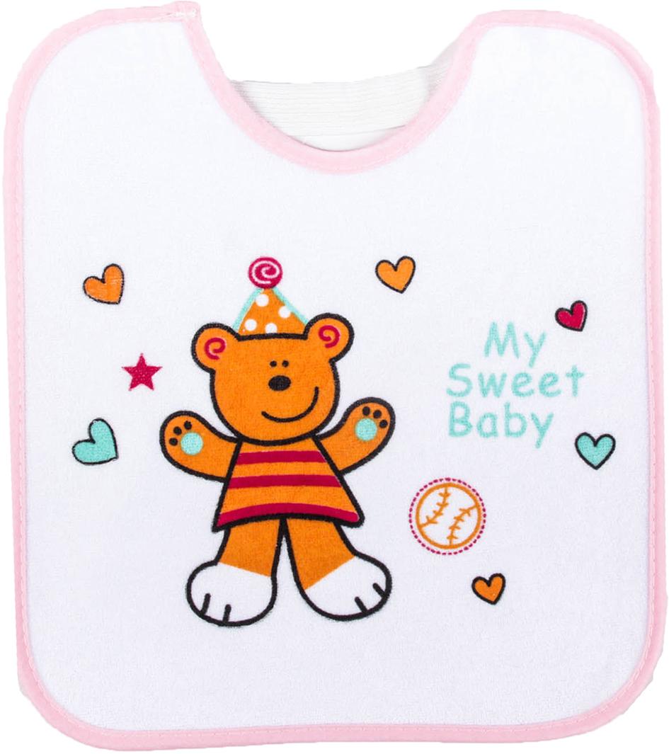 Крошка Я Нагрудник Мишка для малышек -  Все для детского кормления