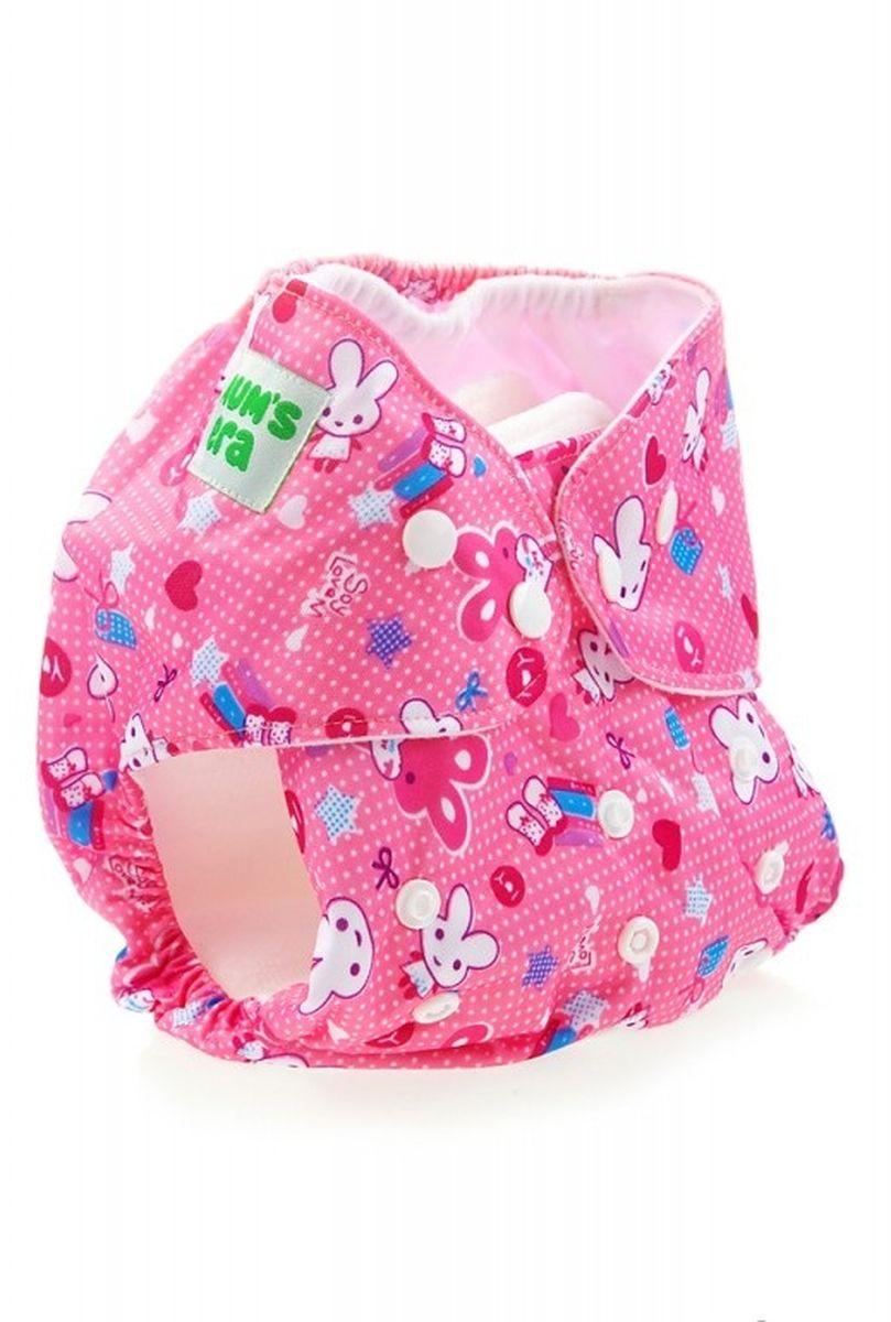 Mum's Era Многоразовый подгузник Ушастики 3-13 кг + один вкладыш -  Подгузники и пеленки