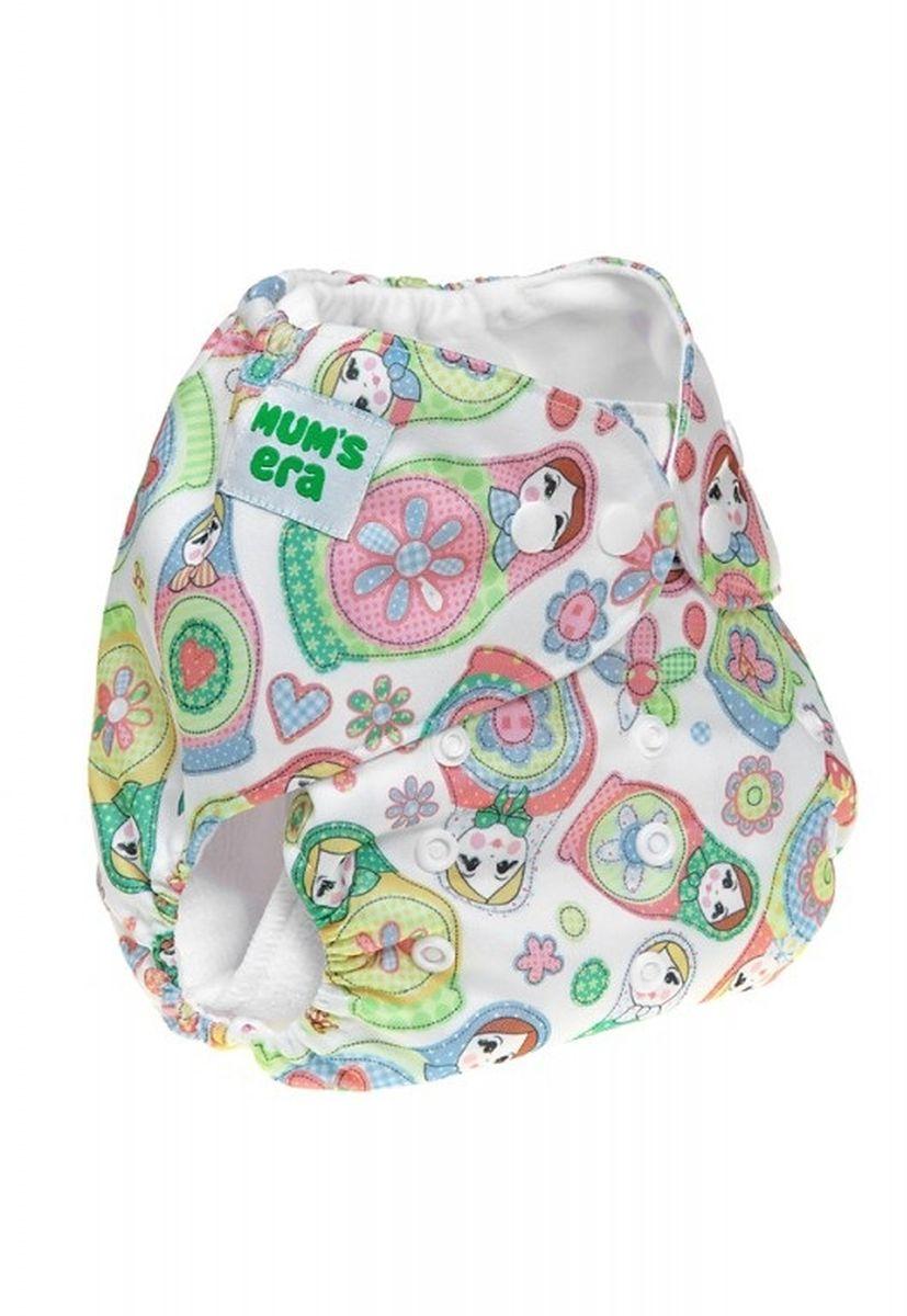 Mum's Era Многоразовый подгузник Матрешки 3-13 кг + один вкладыш -  Подгузники и пеленки