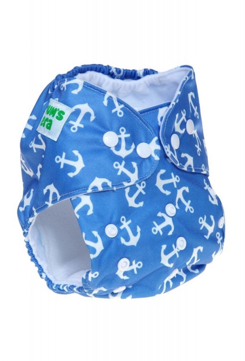 Mum's Era Многоразовый подгузник Якоря 3-13 кг + один вкладыш -  Подгузники и пеленки