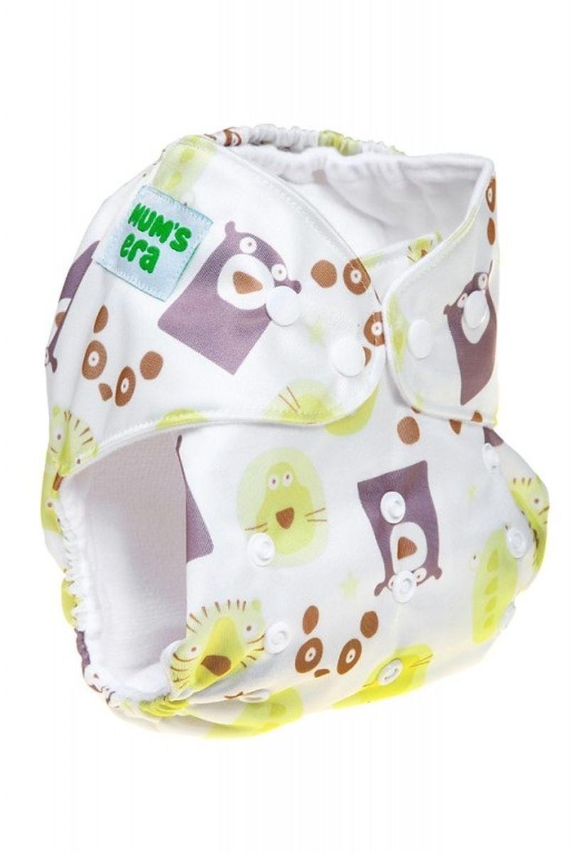Mum's Era Многоразовый подгузник Медведи 3-13 кг + один вкладыш -  Подгузники и пеленки