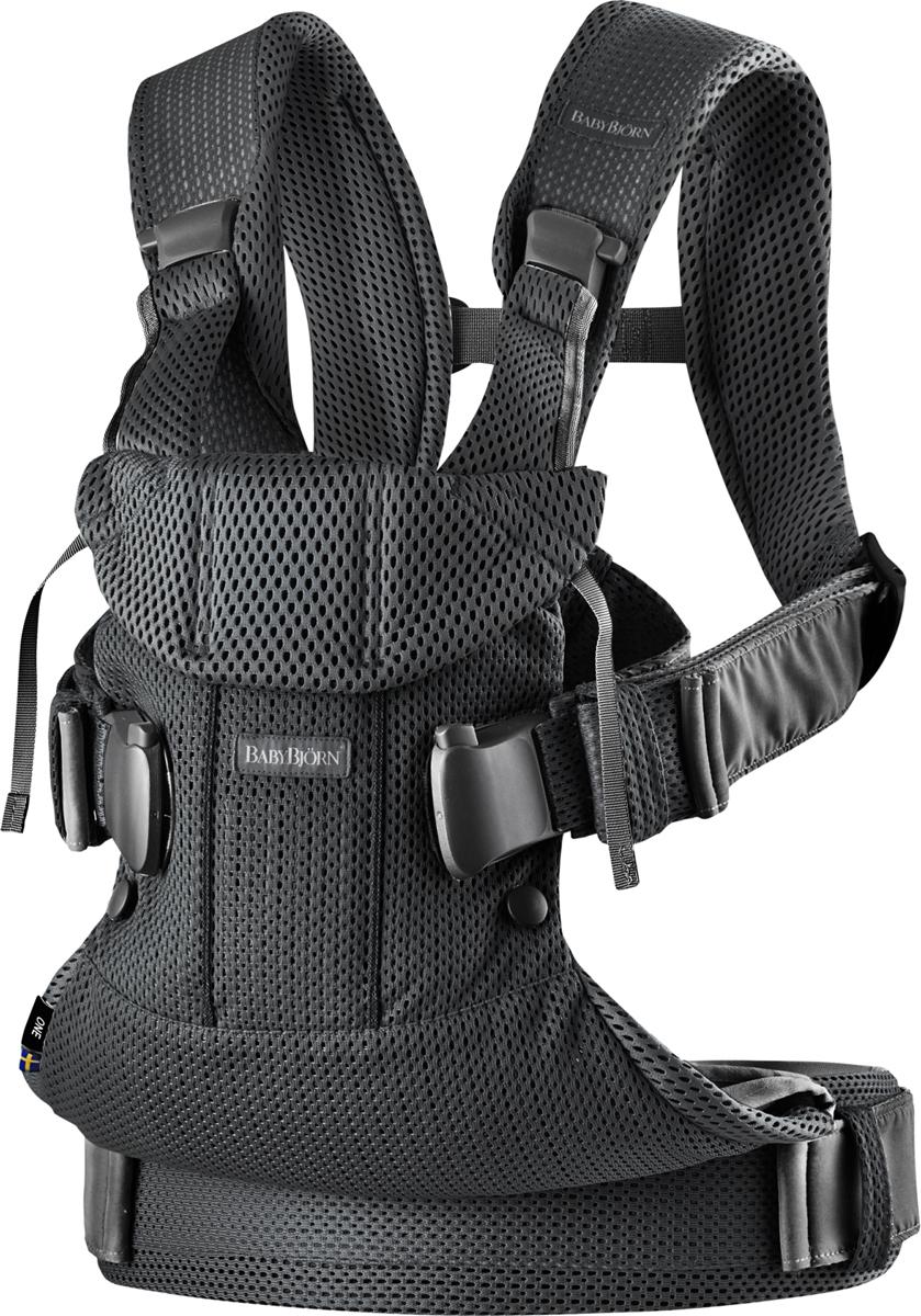 BabyBjorn Рюкзак для переноски ребенка One Mesh цвет черный -  Рюкзаки, слинги, кенгуру