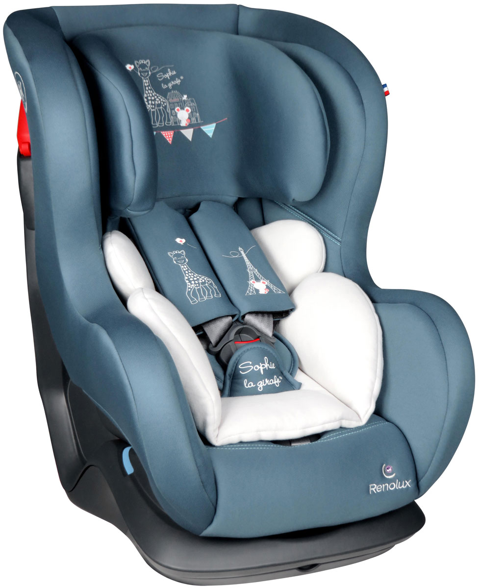 Renolux Автокресло New Austin цвет бирюзовый белый -  Автокресла и аксессуары