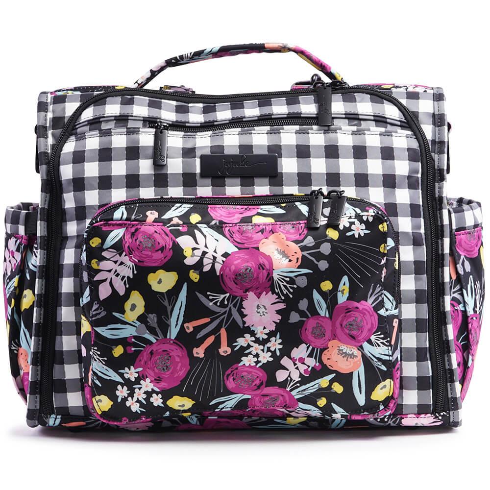 Ju-Ju-Be Сумка-рюкзак для мамы B.F.F. Gingham Bloom -  Сумки для мам