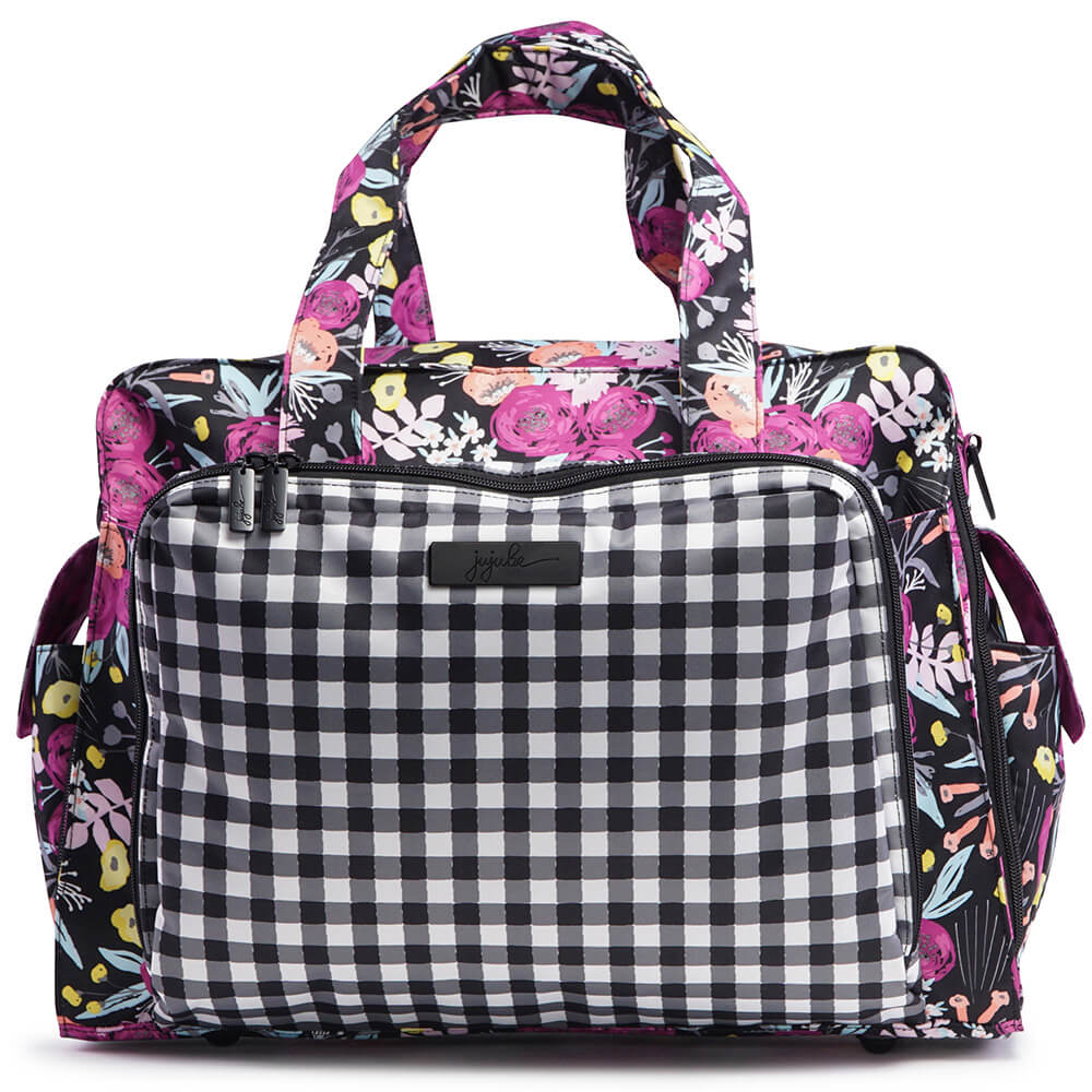 Ju-Ju-Be Дорожная сумка Be Prepared Gingham Bloom -  Сумки для мам