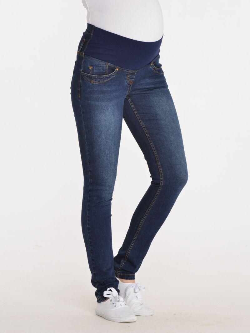 Вставить резинку в джинсы для беременных 53