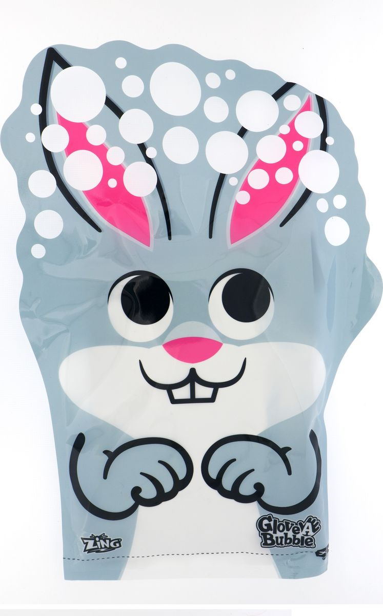 Glove-A-Bubbles Мыльные пузыри Кролик -  Мыльные пузыри