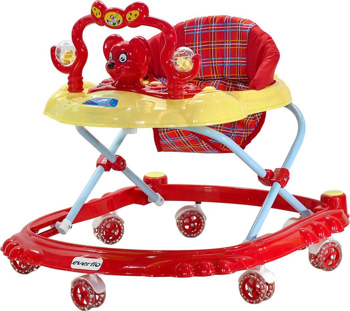 Everflo Ходунки Мышонок W403 цвет красный -  Ходунки, прыгунки, качалки
