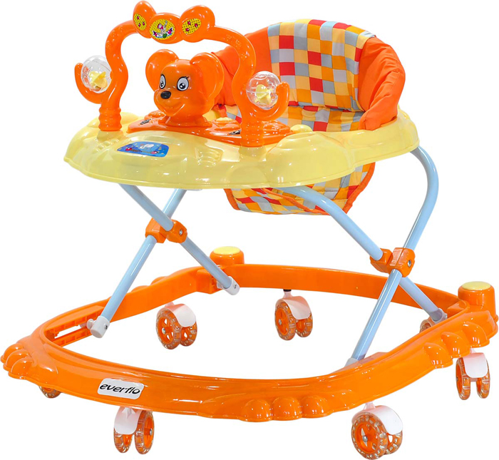 Everflo Ходунки Мышонок W403 цвет оранжевый -  Ходунки, прыгунки, качалки