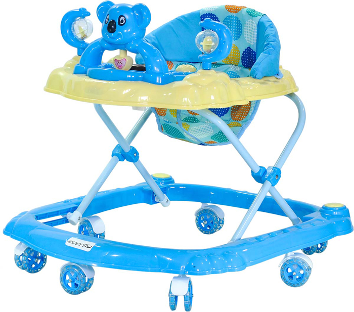 Everflo Ходунки Коала W405 цвет синий -  Ходунки, прыгунки, качалки