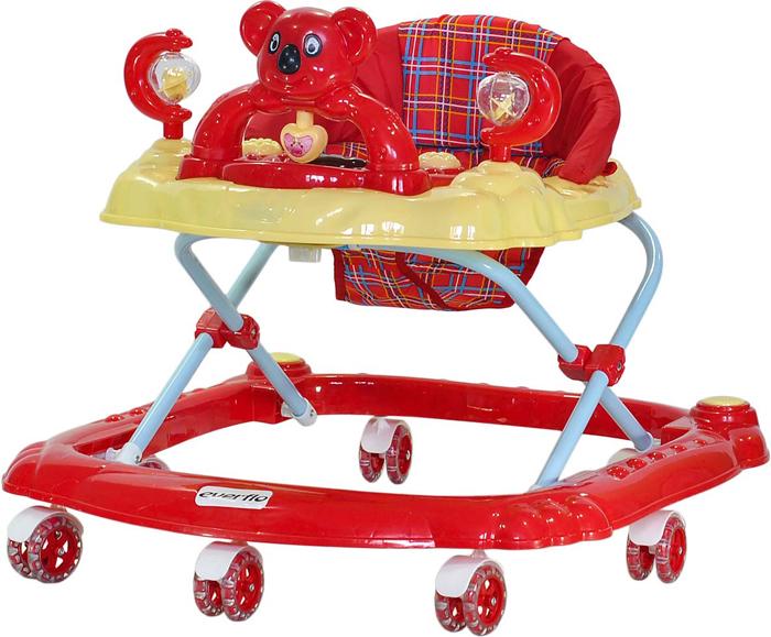 Everflo Ходунки Коала W405 цвет красный -  Ходунки, прыгунки, качалки