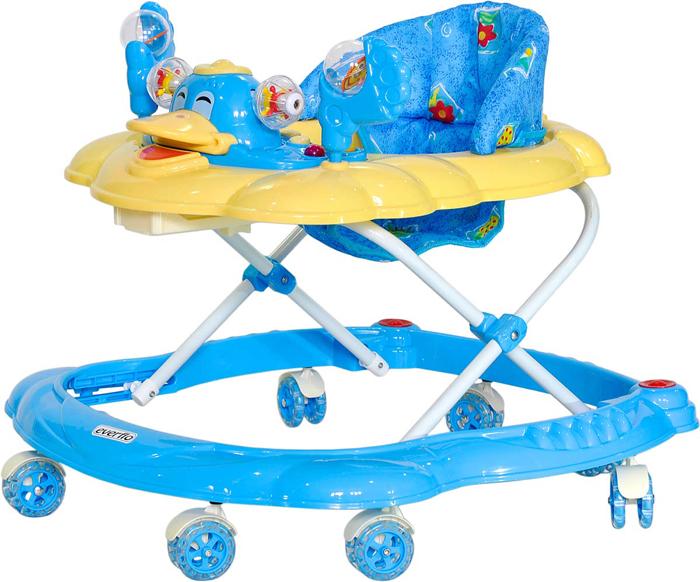 Everflo Ходунки Утенок WT409 цвет синий -  Ходунки, прыгунки, качалки