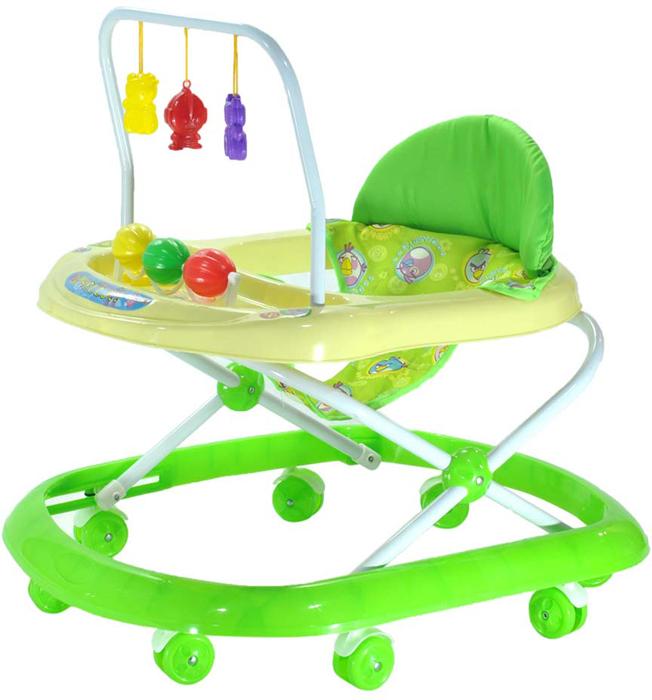 Everflo Ходунки Попугай 992 цвет зеленый -  Ходунки, прыгунки, качалки