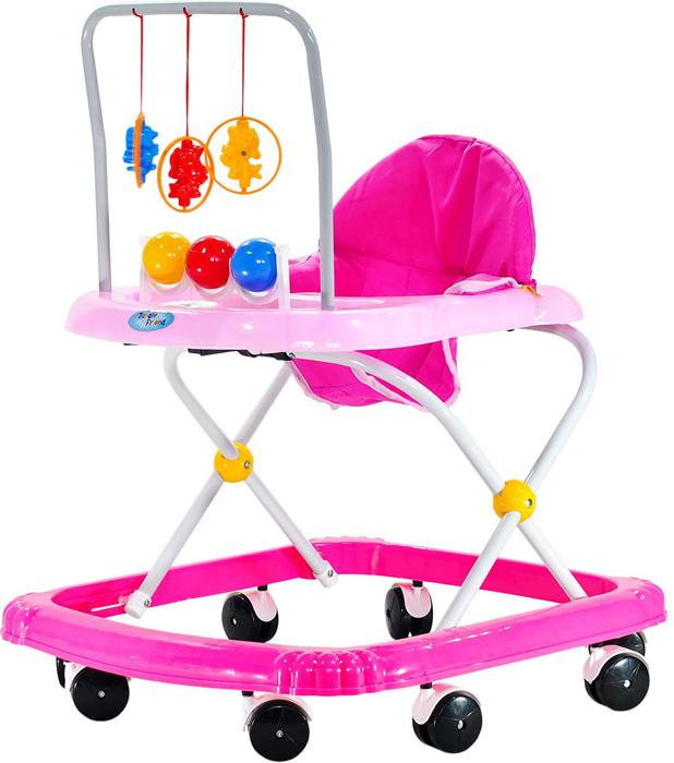Everflo Ходунки FL 615 цвет розовый -  Ходунки, прыгунки, качалки