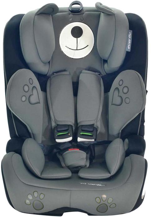 Автокресло Everflo Bear Keeper 968PB цвет серый от 9 до 36 кг -  Автокресла и аксессуары