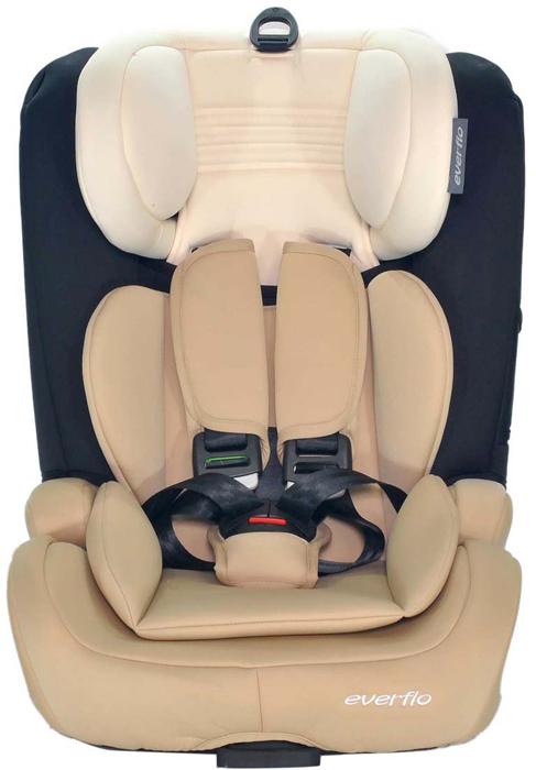 Автокресло Everflo Road Luxe Isofix 968HIP цвет бежевый от 9 до 36 кг -  Автокресла и аксессуары