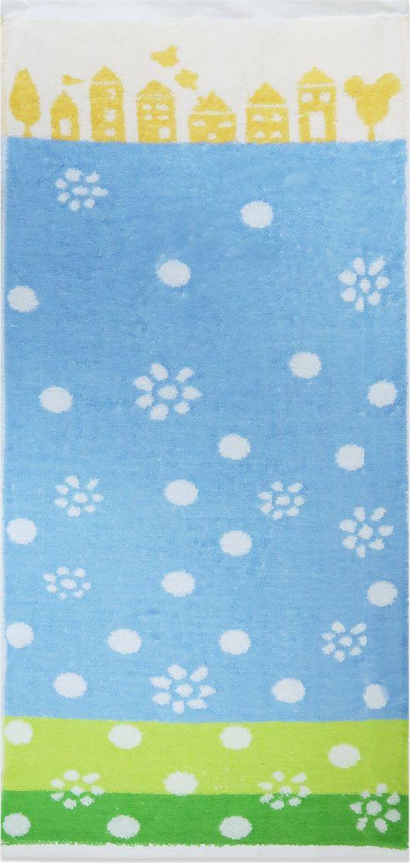 Bravo Полотенце детское Радость цвет синий 70 х 33 см -  Все для купания