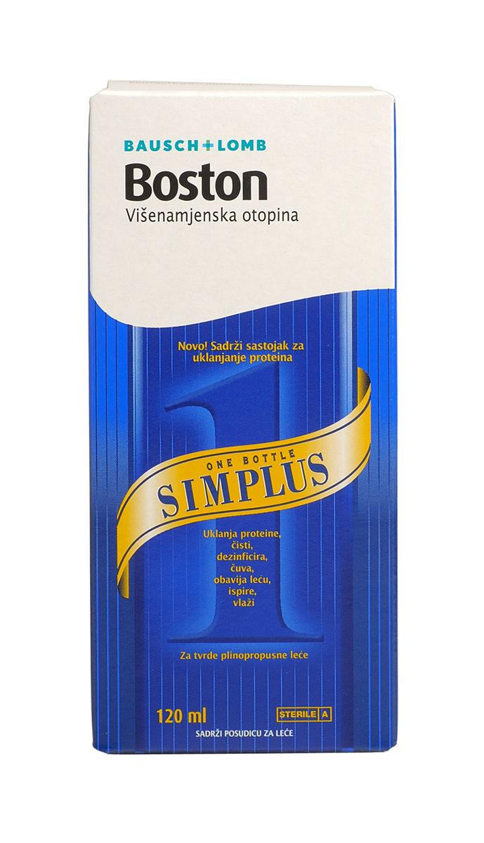 Boston Раствор SimPlus, 120 мл - Аксессуары для контактных линз