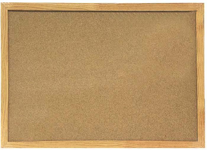 Доска пробковая  Magnetoplan , с деревянной рамкой, 60 см х 40 см -  Доски
