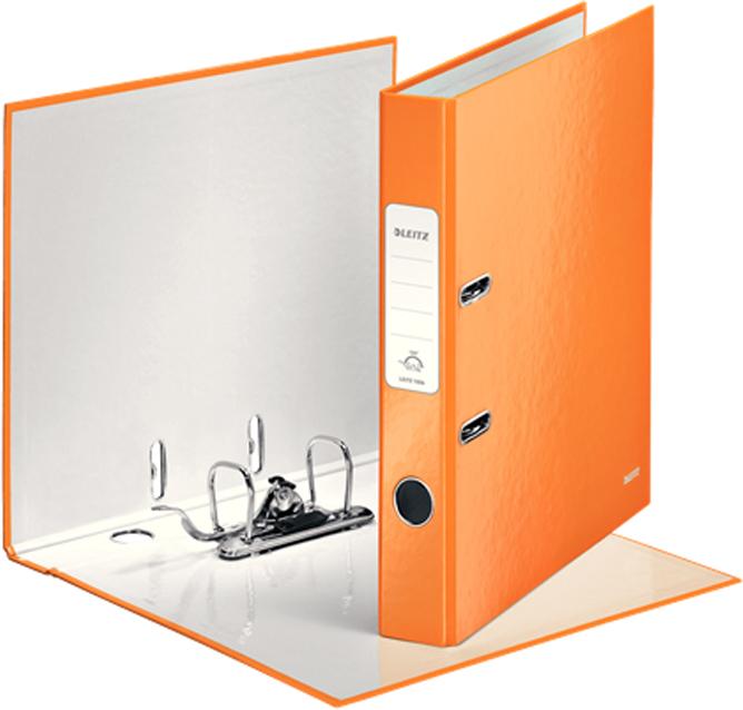 Leitz Папка-регистратор 180° WOW обложка 50 мм цвет оранжевый -  Папки