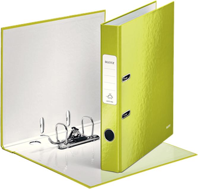 Leitz Папка-регистратор 180° WOW обложка 50 мм цвет зеленый -  Папки