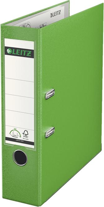 Leitz Папка-регистратор 180° обложка 80 мм цвет светло-зеленый -  Папки