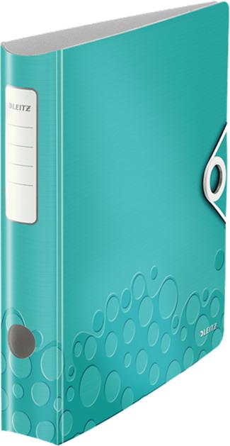 Leitz Папка-регистратор 180° Active WOW обложка 65 мм цвет бирюзовый -  Папки