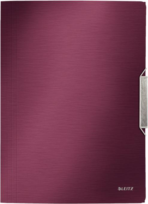 Leitz Папка на резинке Style цвет красный -  Папки