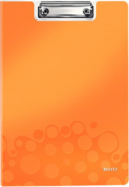 Leitz Папка-планшет WOW с крышкой цвет оранжевый -  Папки