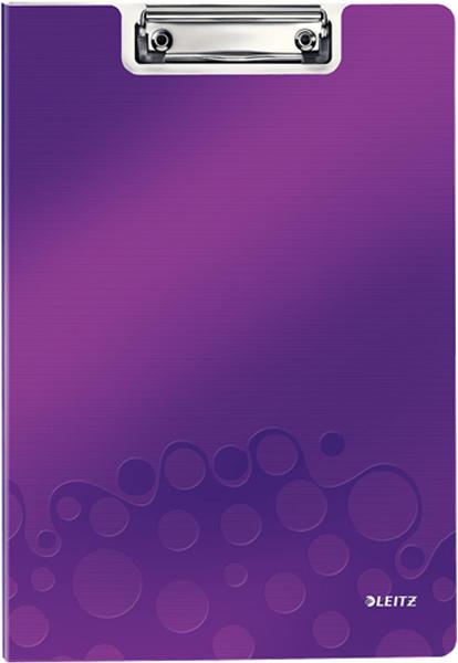 Leitz Папка-планшет WOW с крышкой цвет фиолетовый -  Папки