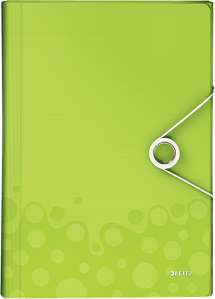 Leitz Папка для проектов WOW цвет зеленый -  Папки