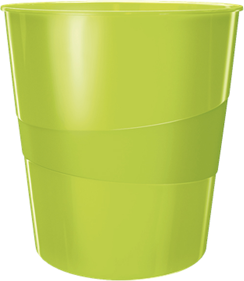 Leitz Корзина для бумаг WOW цвет зеленый -  Корзины для бумаг