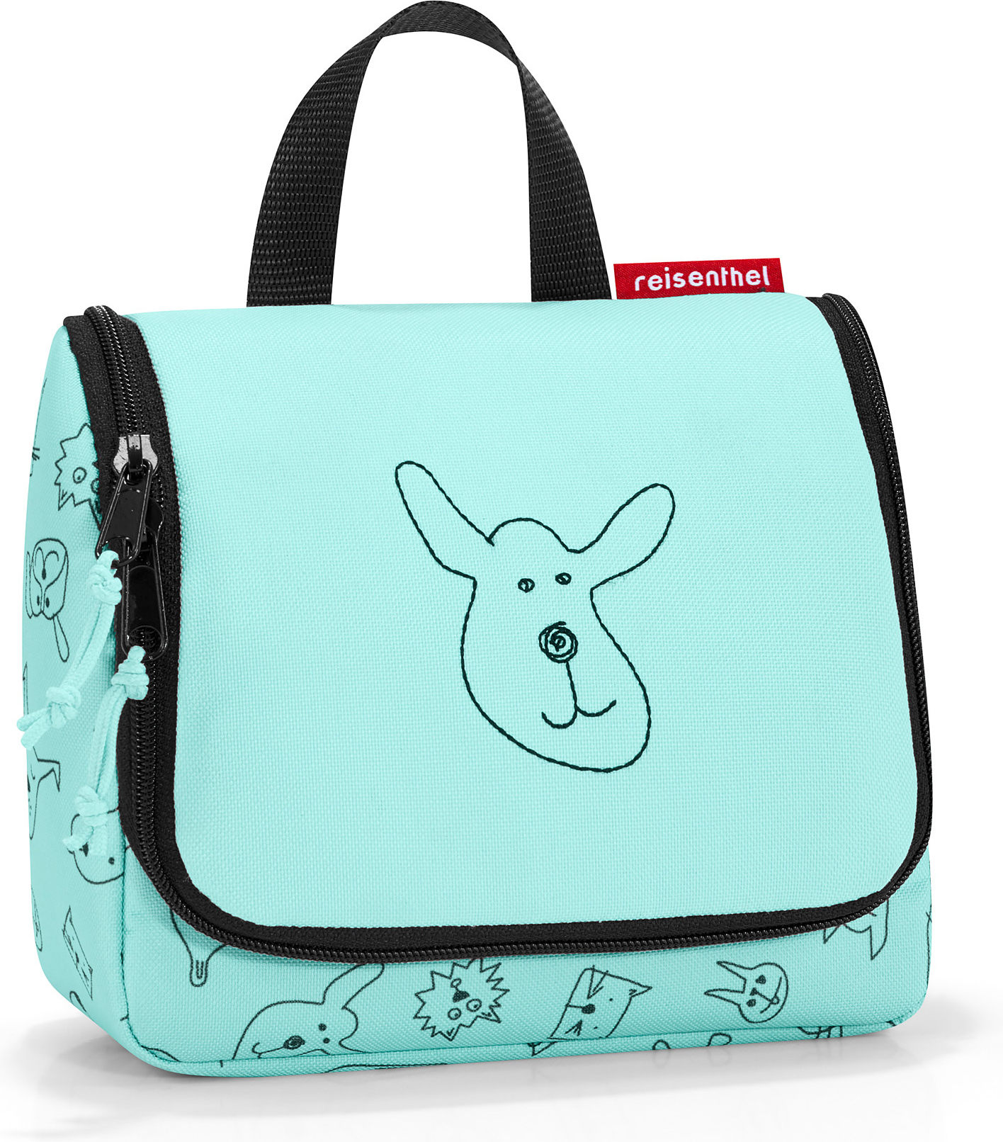 Reisenthel Сумка детская Toiletbag S Cats And Dogs Mint -  Ранцы и рюкзаки