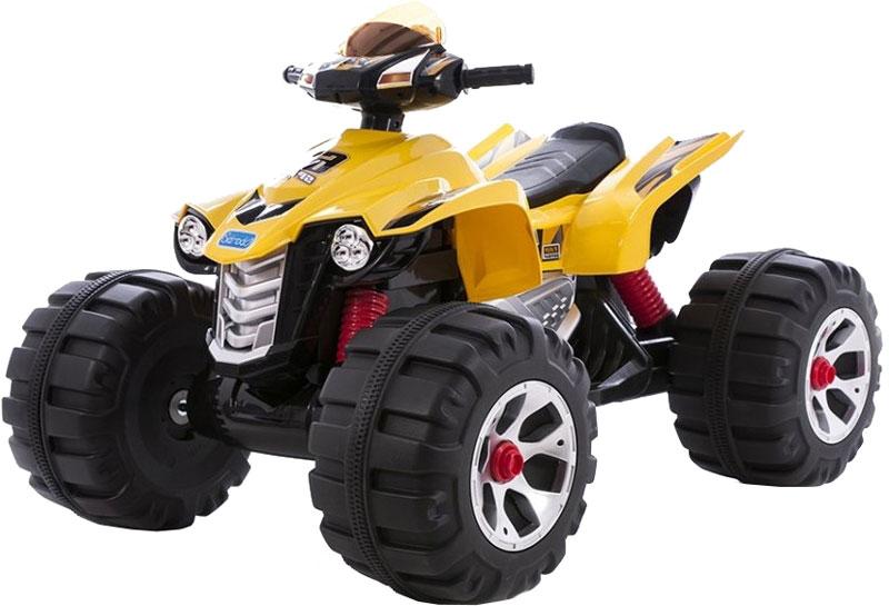 Kidscars Электромобиль Квадроцикл цвет желтый -  Электромобили