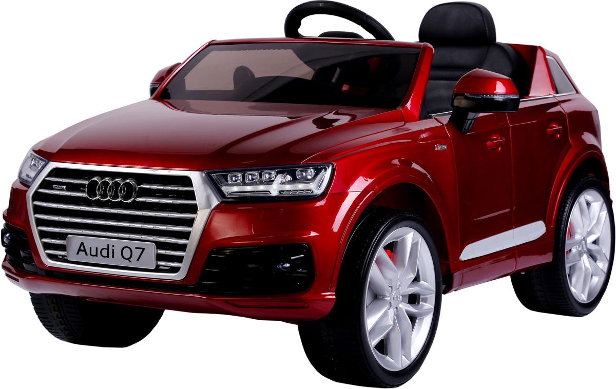 Kidscars Электромобиль Audi Q7 цвет красный -  Электромобили