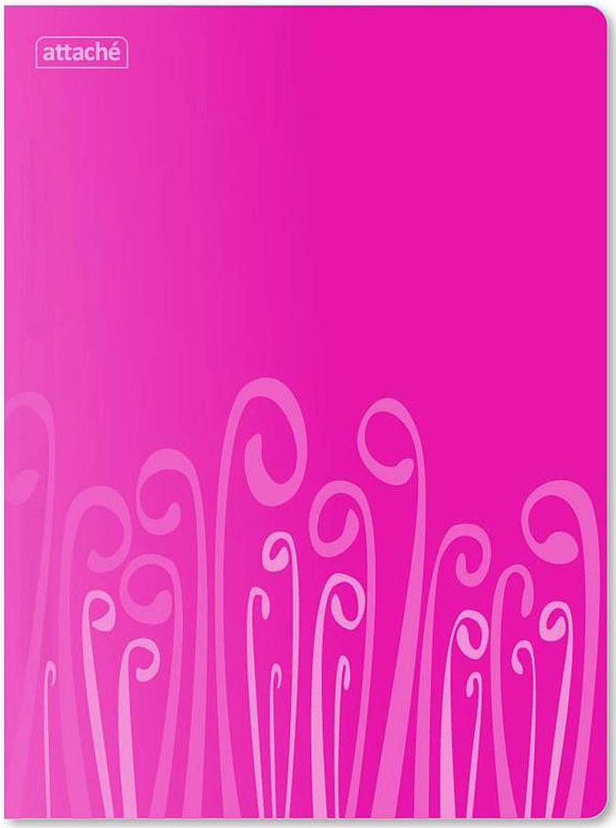 Attache Папка-скоросшиватель с пружиной Fantasy А4 цвет розовый -  Папки