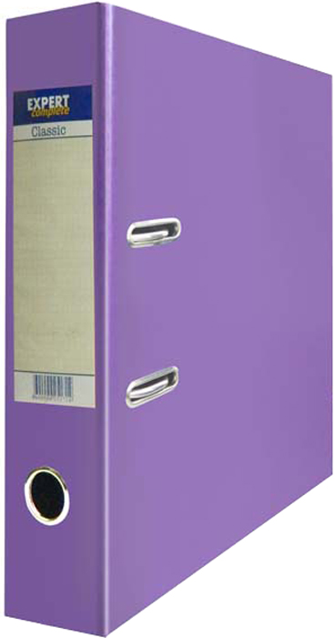 Expert Complete Папка-регистратор PVC 75 мм Classic цвет сиреневый -  Папки