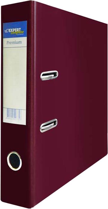 Expert Complete Папка-регистратор PVC 75 мм Premium цвет бордовый -  Папки