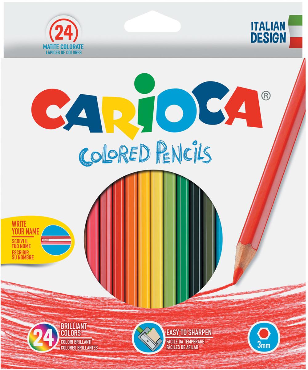 Carioca Набор цветных карандашей 24 цвета -  Карандаши