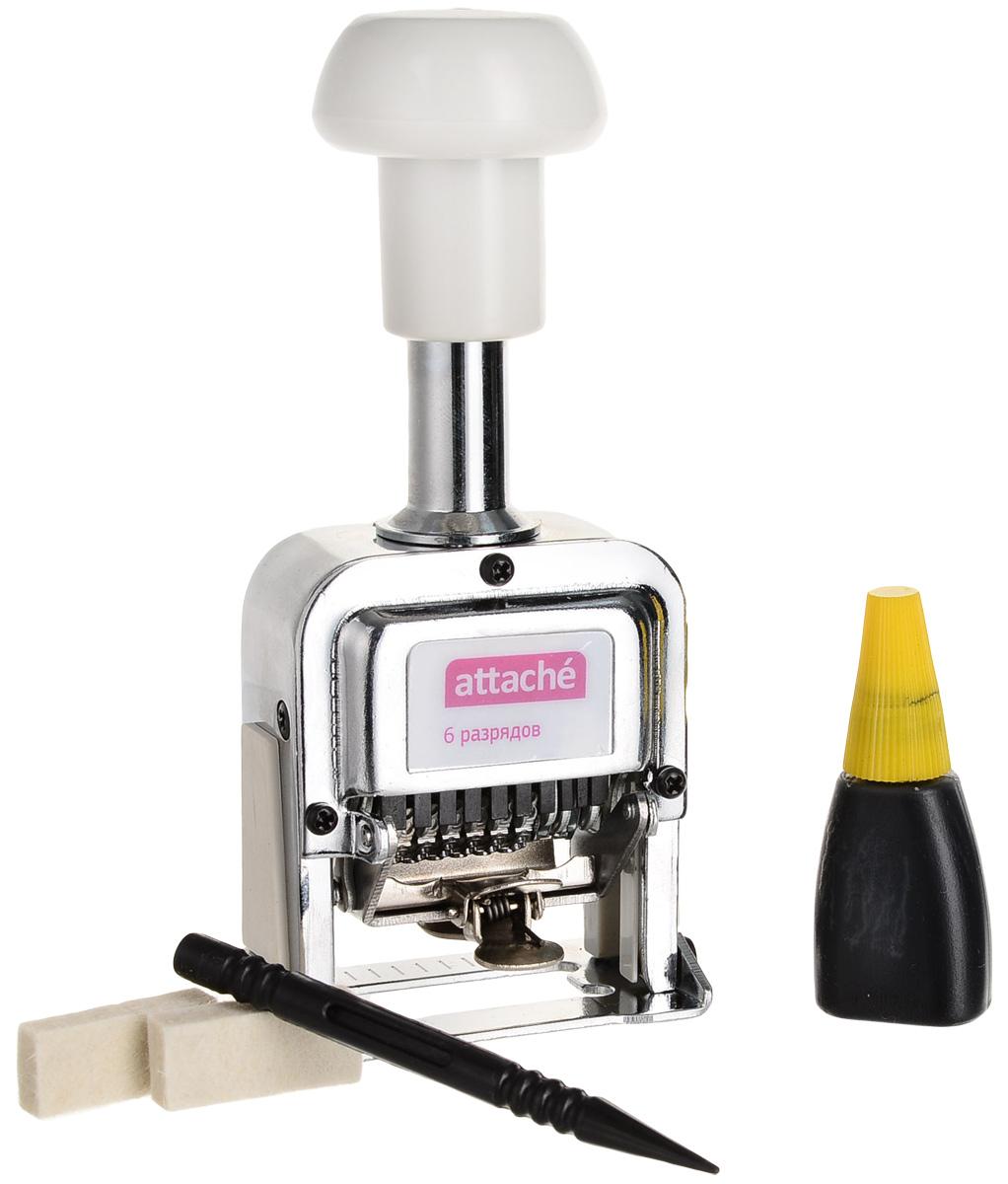 Attache Нумератор шестиразрядный 4,8 мм -  Печати, штампы