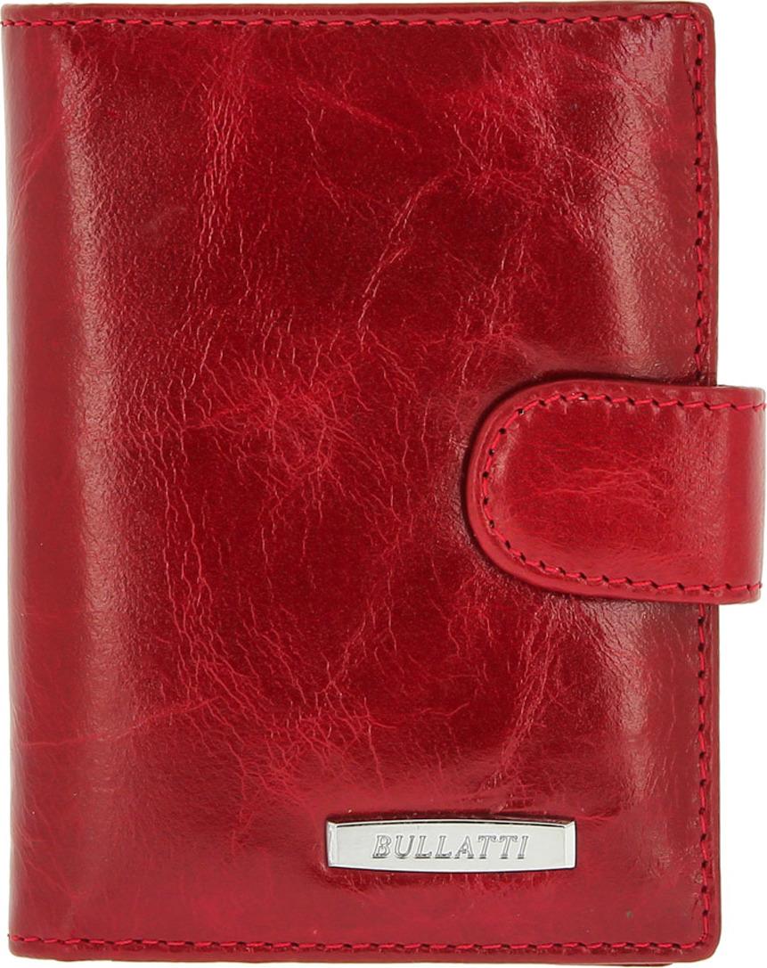 Визитница женская Bullatti, цвет: красный. 2107-D65 -  Визитницы