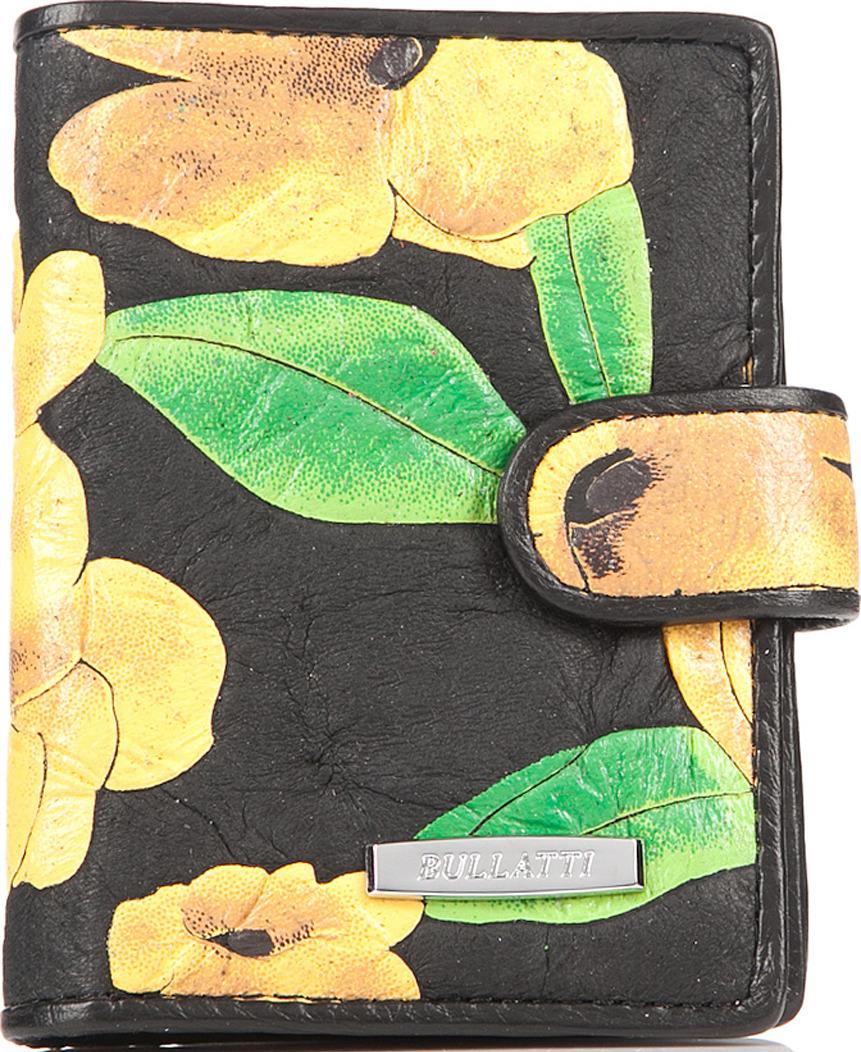 Визитница женская Bullatti, цвет: черный. 2107FL-F52 -  Визитницы
