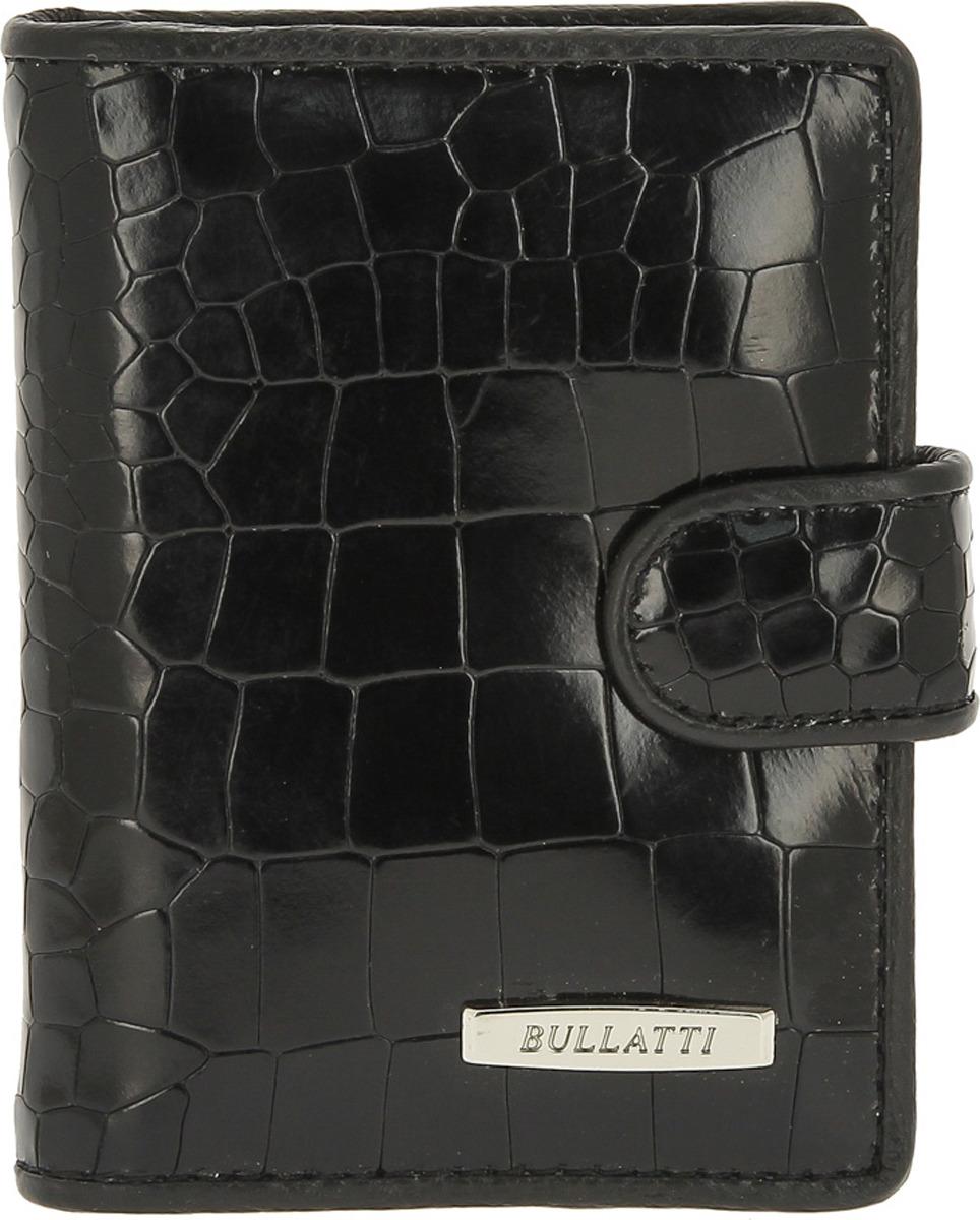 Визитница женская Bullatti, цвет: черный. 2107FL-F95 -  Визитницы