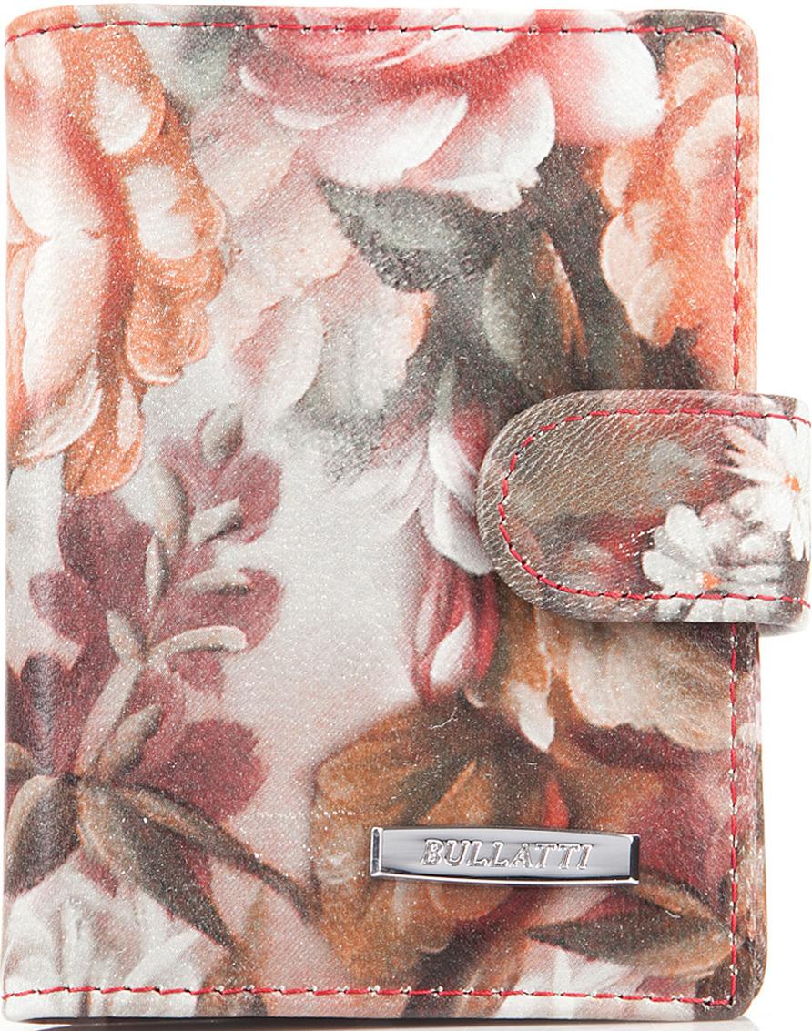 Визитница женская Bullatti, цвет: розовый. 2107L-F51 -  Визитницы