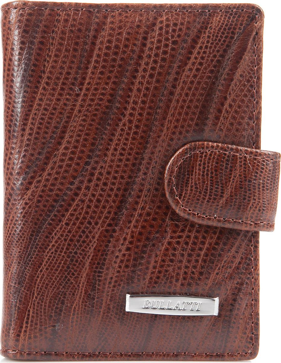 Визитница женская Bullatti, цвет: коричневый. 2107L-F60 -  Визитницы