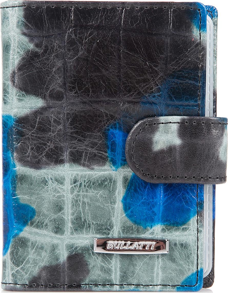 Визитница женская Bullatti, цвет: синий. 2107L-F61 -  Визитницы